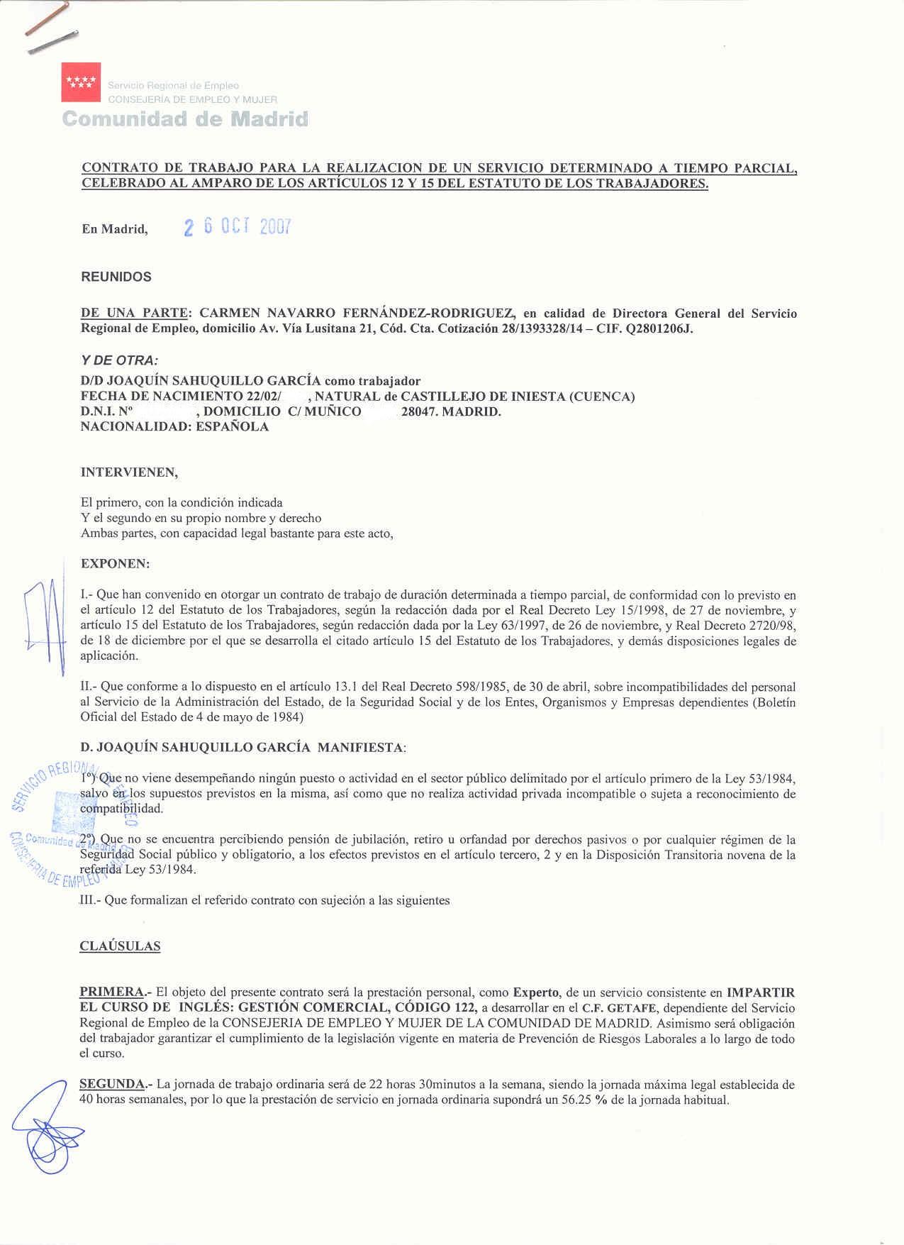 Vistoso Curriculum Vitae Para Un Trabajo De Maestro De Escuela ...