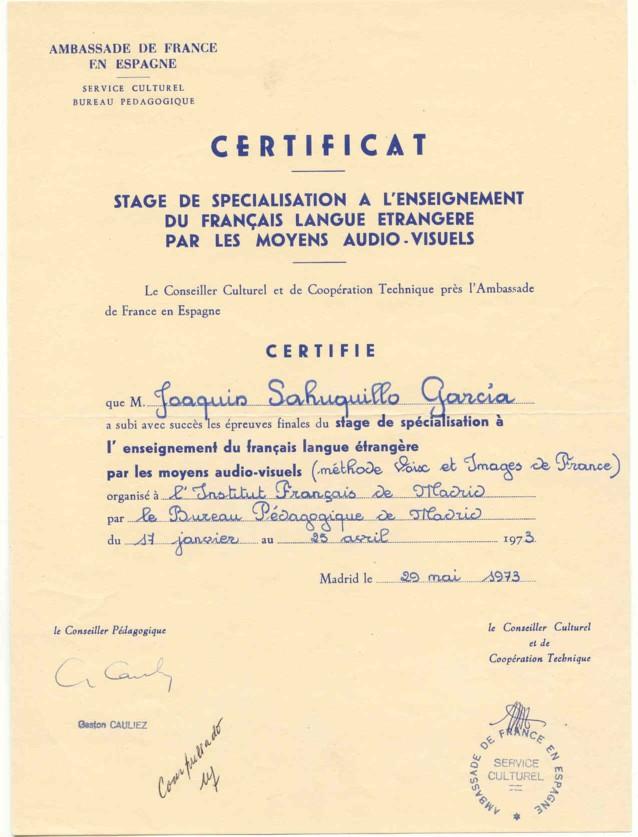 Joaquin sahuquillo garcia curriculum vitae - Certificat d origine chambre de commerce ...